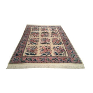 Traditional Handmade Knotted Rug - 6′ × 9′