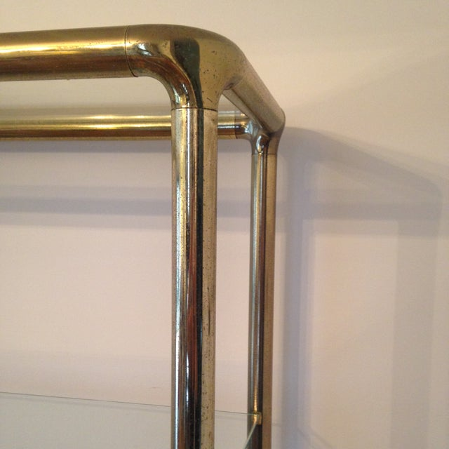 Brass Etagere in the Manner of John Widdicomb - Image 7 of 9
