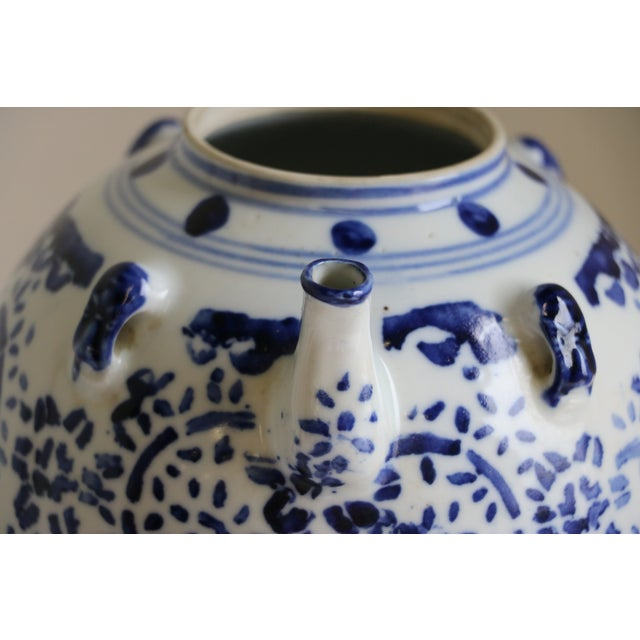 A Chinese Porcelain Wine Pot - Image 3 of 7