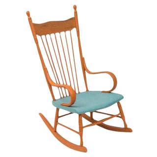 Restored Shabby Chic Style Rocking Chair