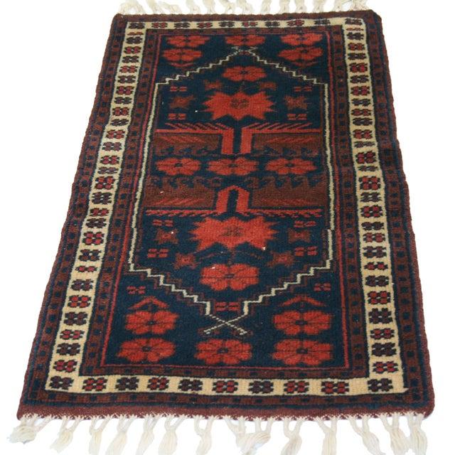 "Vintage Kurdish Carpet - 1'8"" X 3'6"" - Image 2 of 2"