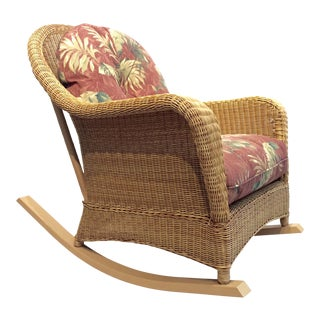 Outdoor Rattan Rocking Chair