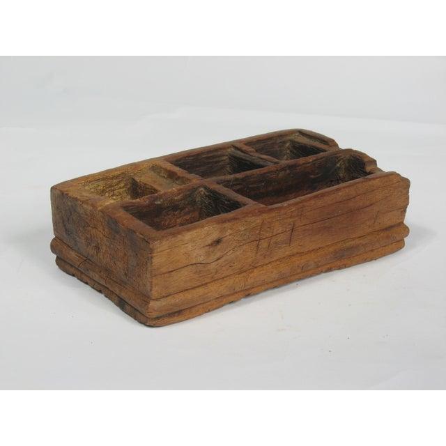 Vintage Large Betel Nut Wood Server - Image 2 of 4