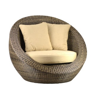 Woven Fiber Round Chair