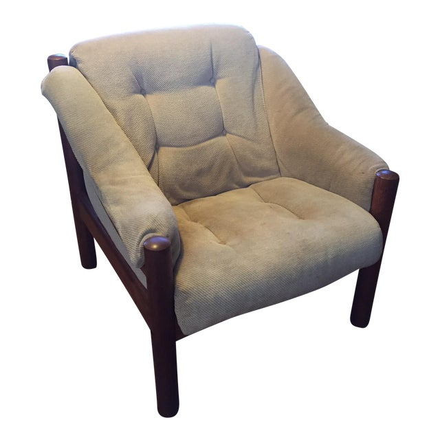 Domino Mobler Danish Modern Teak Lounge Chair (3 Available) - Image 1 of 8