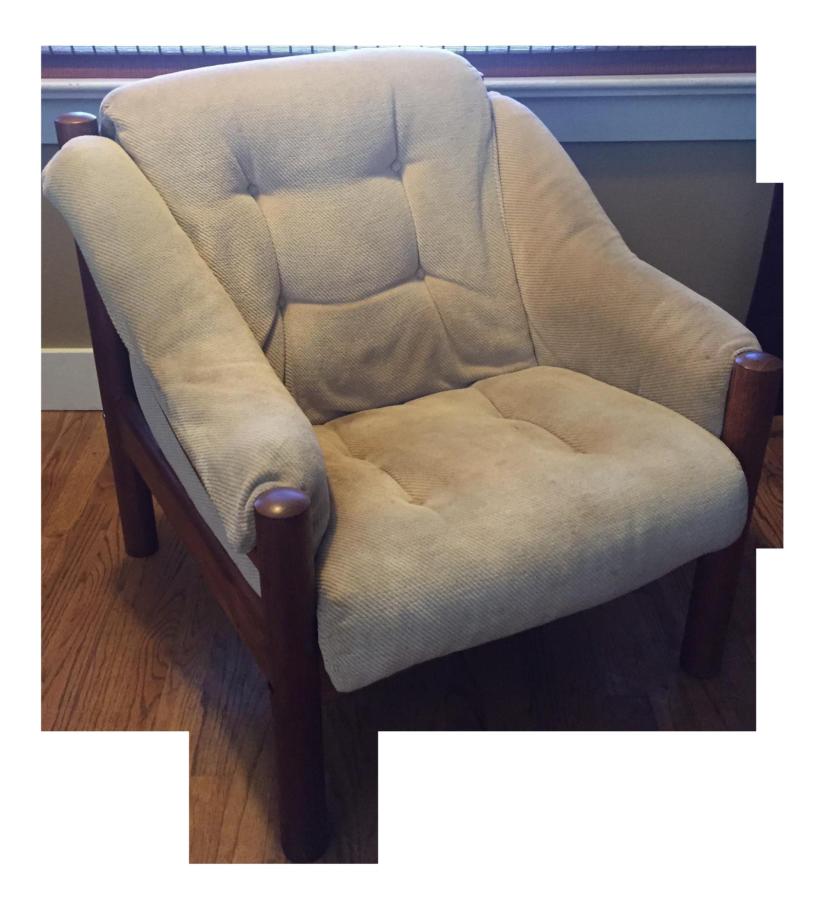 Domino Mobler Danish Modern Teak Lounge Chair 3 Available