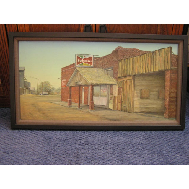 Image of Dyckie Wallace Original Painting, 1950's