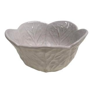 Portuguese Whiteware Bowl