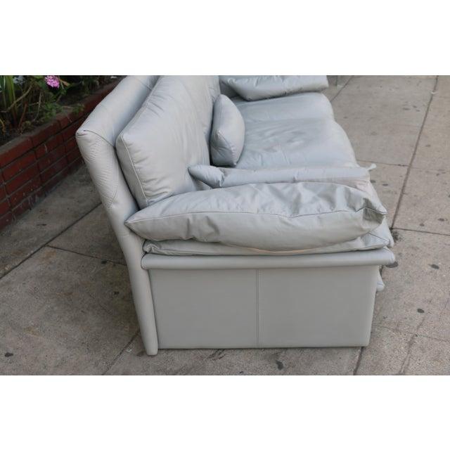 Nicoletti Italian Leather Sofa - Image 4 of 11