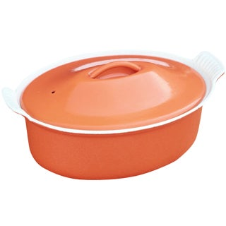 Le Creuset Orange Casserole Pot