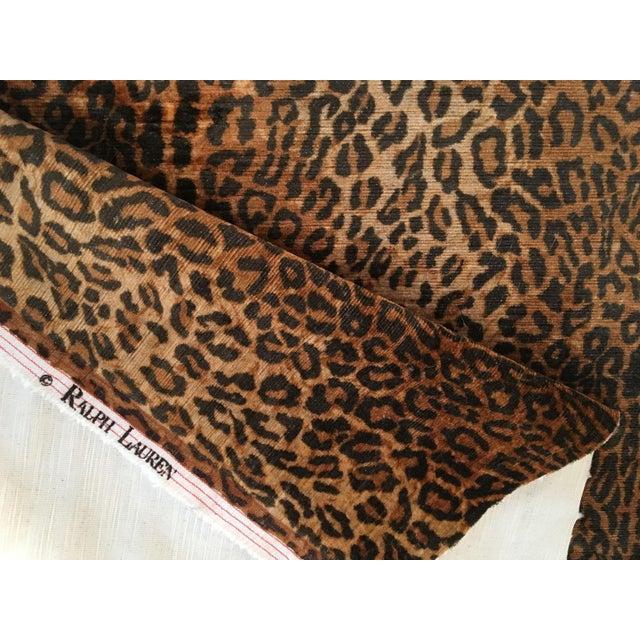 "Ralph Lauren ""Kano Silk Leopard"" Fabric Pieces - Set of 3 - Image 2 of 2"