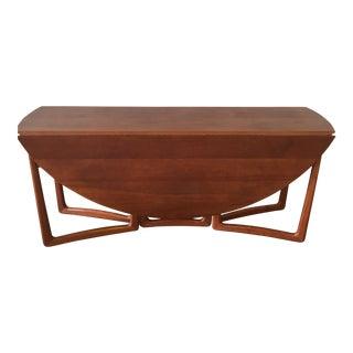 Vintage Peter Hvidt Teak Dining Table