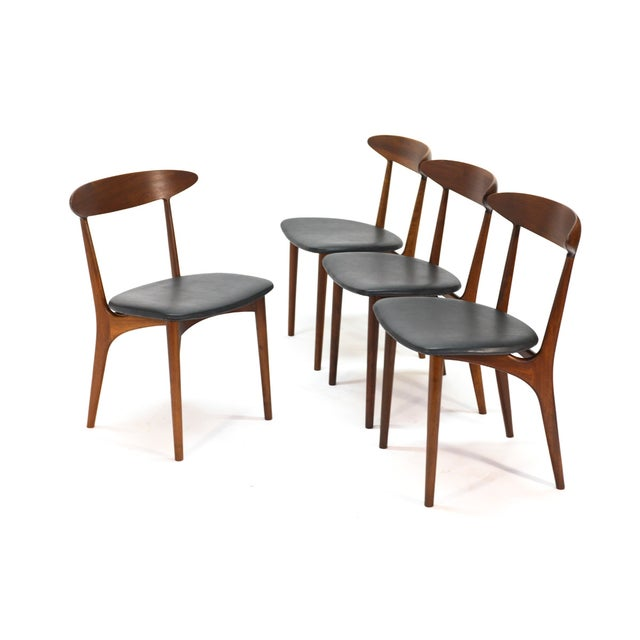 Image of Kurt Ostervig Walnut Dining Chairs - Set of 4