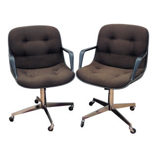 Steelcase Vintage Tanker Swivel Chairs- A Pair