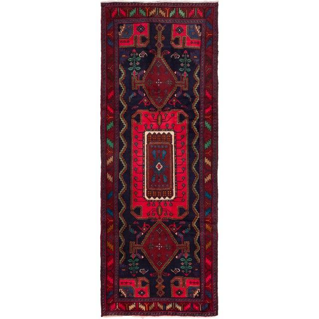 "Image of Hamadan Vintage Persian Rug - 4'1"" X 11'2"""