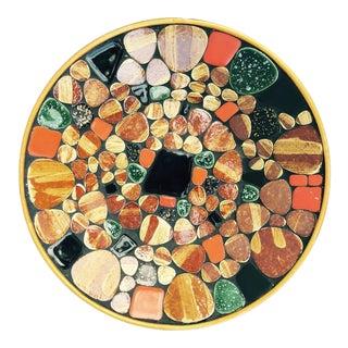 Mid-Century Mosaic Tile Art Bowl
