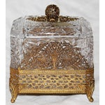 Image of Hollywood Regency Glass Vanity Box