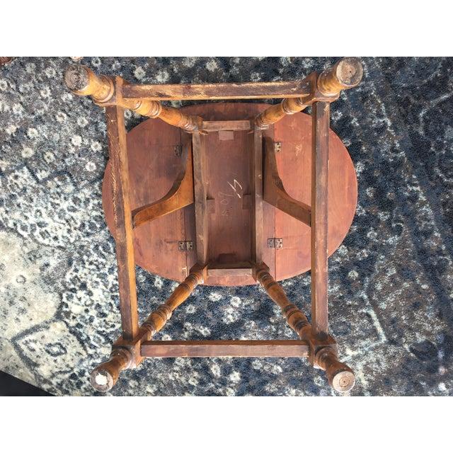 Mary & William Gateleg Side Table - Image 4 of 7