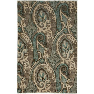 """Suzani, Hand Knotted Area Rug - 4' 2"""" x 6' 2"""""""