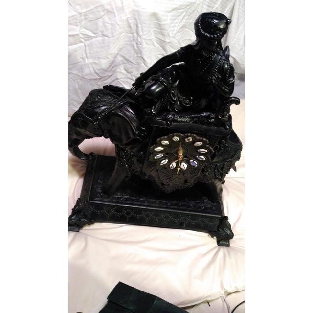 Egyptian Revival Mantel Clock - Image 11 of 11