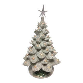 Vintage Light Up Musical Christmas Dove Tree