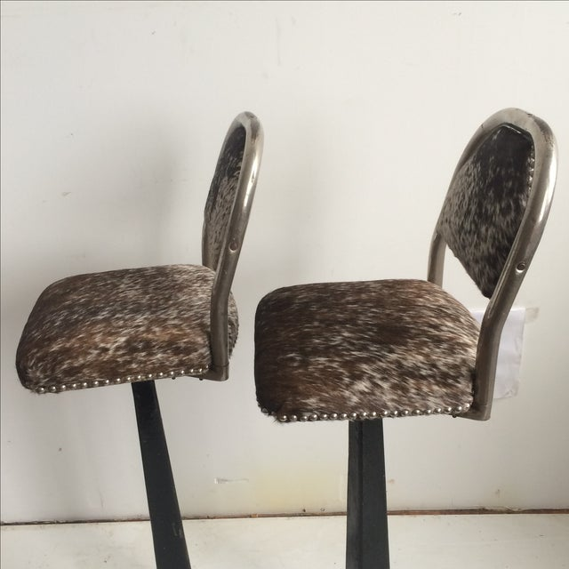 Antique 1930' S Stools - Pair - Image 4 of 8