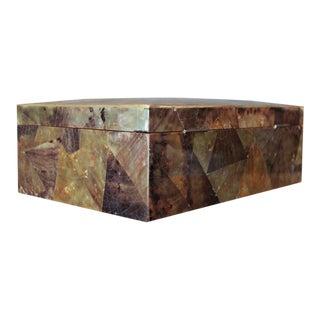 Large Signed Box by Karl Springer