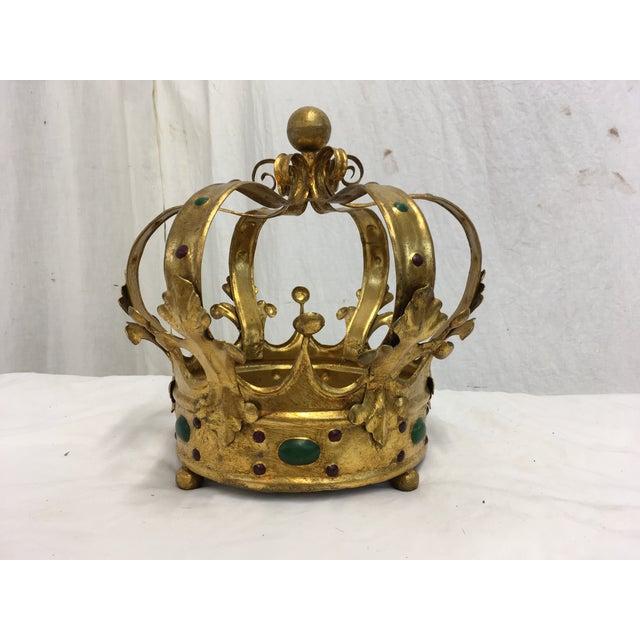 Florentine Gilt Metal Crown - Image 2 of 7
