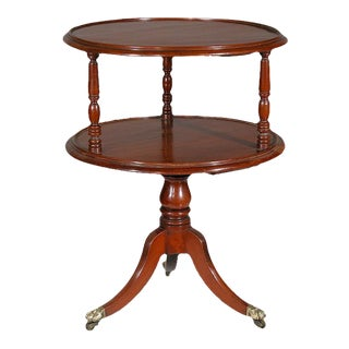 Mahogany Chippendale Two-Tier Dumbwaiter