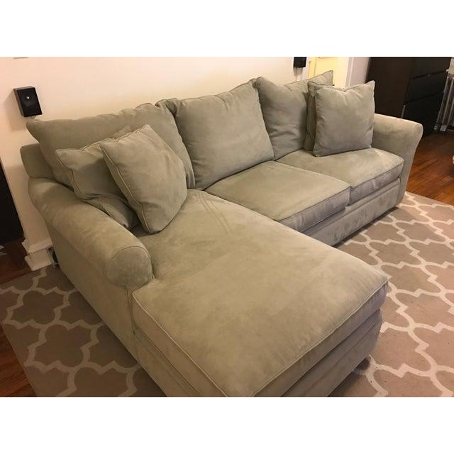 Doss sofa doss fabric microfiber sectional sofa 4 piece for 4 piece sectional sofa microfiber