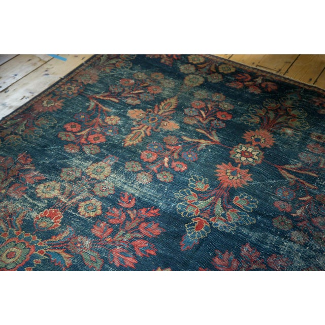 "Vintage Mahal Square Carpet - 6'4"" x 7'7"" - Image 6 of 10"