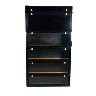 Contemporary Barrister Bookcase