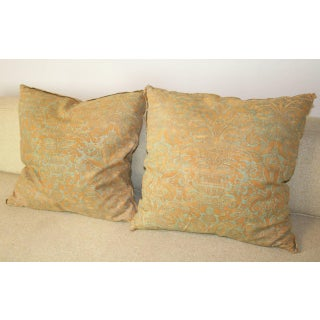 Vintage Fortuny Pillows - A Pair