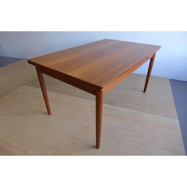 Hans Wegner Draw Leaf Teak Dining Table - Image 7 of 9