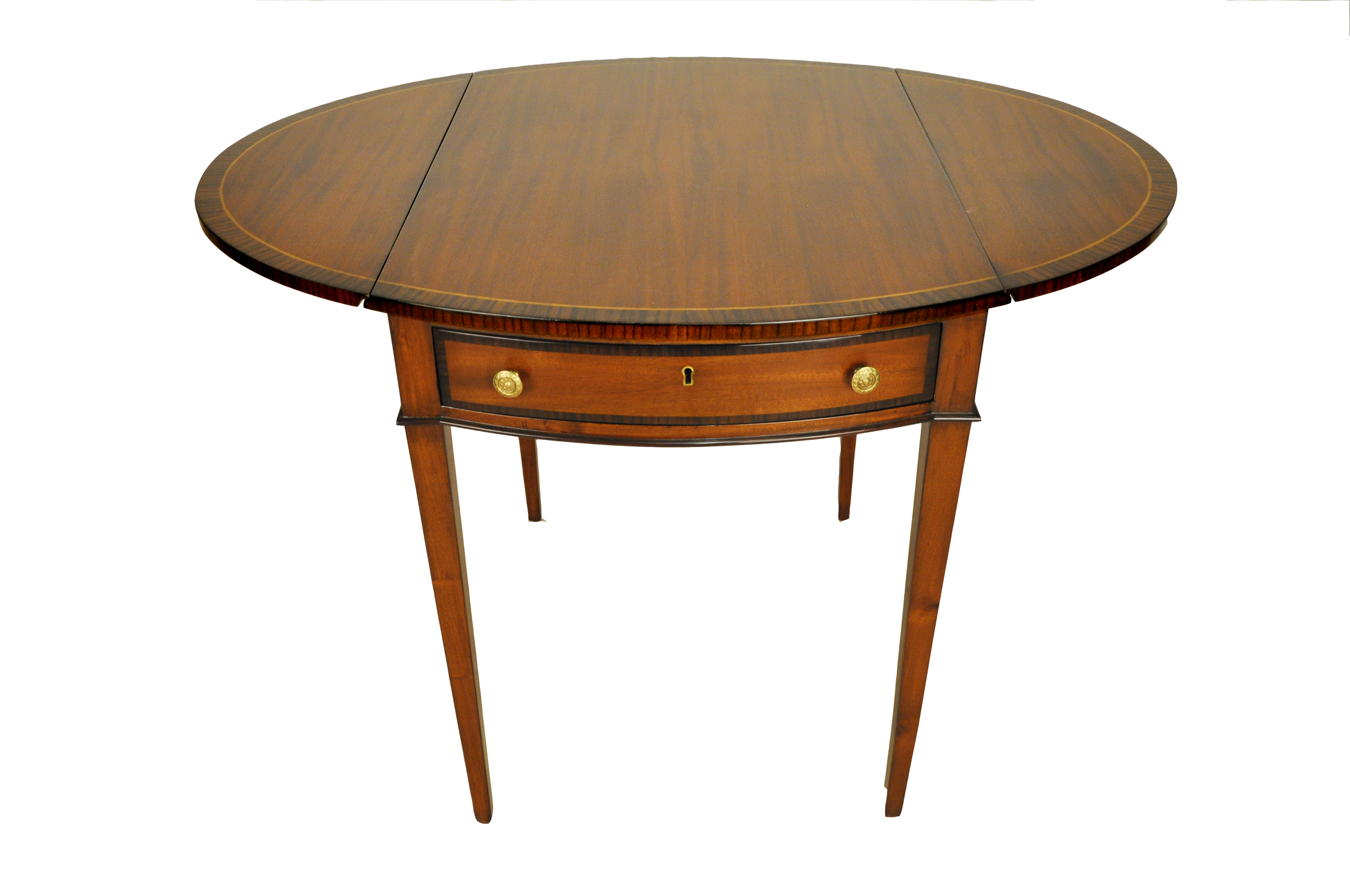 Perfect George III Drop Leaf Pembroke Side Table   Image 1 Of 4