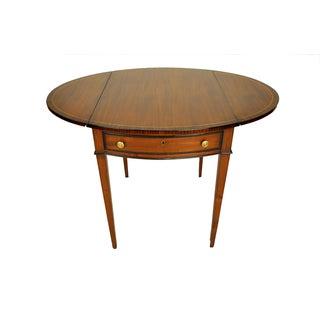 George III Drop-Leaf Pembroke Side Table