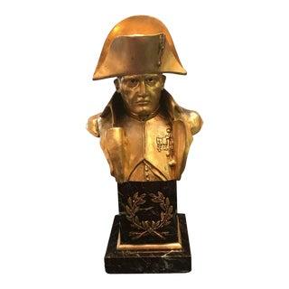 French Empire Bronze Napoleon Bust