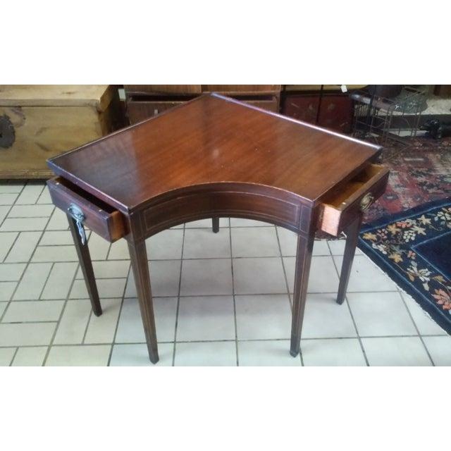 Vintage Corner Side Table - Image 2 of 4