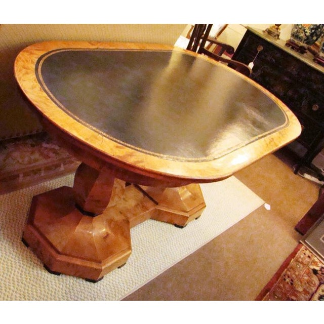 Biedermeier Birchwood Center Table - Image 7 of 7
