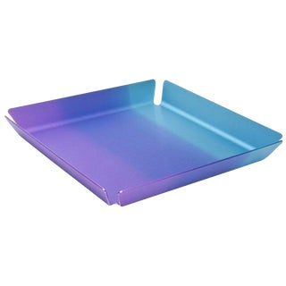 Limited Edition Art Basel Anodized Aluminum Serving/Bar Tray