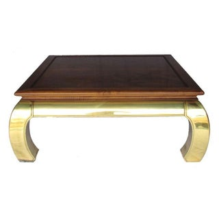 Brass Ming Style Coffee Table