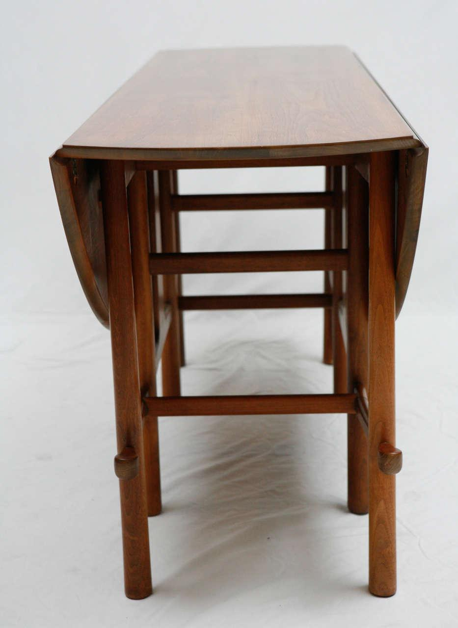 Heritage Henredon Gateleg Table   Image 9 Of 10