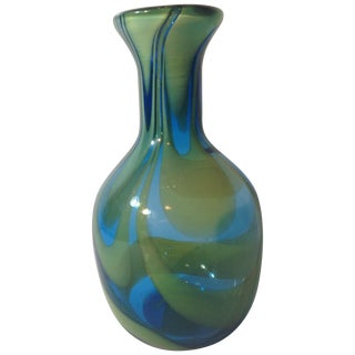 Super Blenko Designer Series Drag Loop Vase