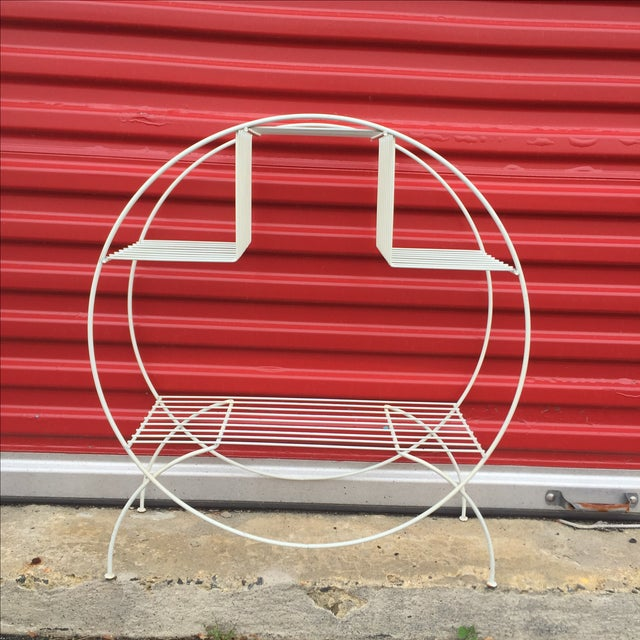 Mid Century Modern Wire Plant Stand - Image 6 of 6