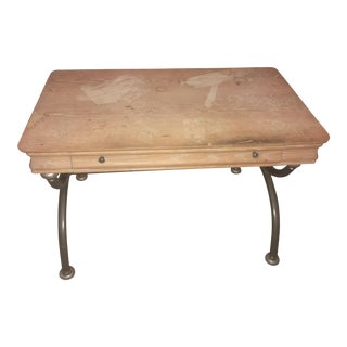 Lane Curule Stretcher Base Writing Desk