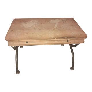Lane Curule Stretcher Base Writing Desk
