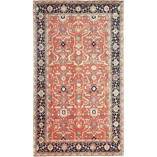 "Traditional Persian Hand Woven Wool Rug - 9'11"" X 16'11"""