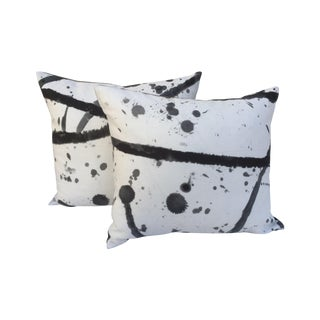 "Pierre Frey ""Leo"" Fabric Pillow - Pair"