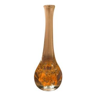 Vintage Mid-Century Art Glass Vase