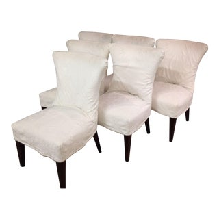 Lee Industries Slipcover Dining Chairs - Set of 6